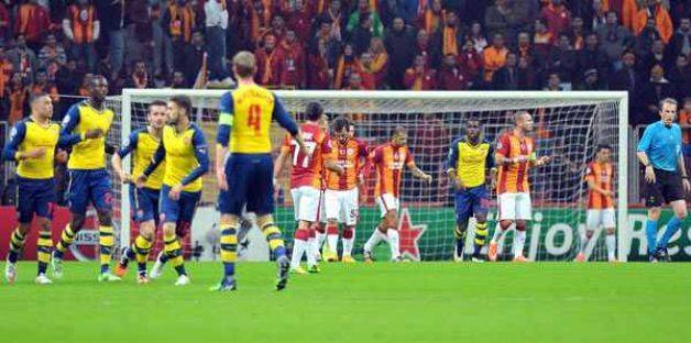 Arsenal - Galatasaray: 1-4