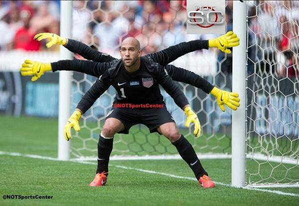 Tim Howard Casp'ler!