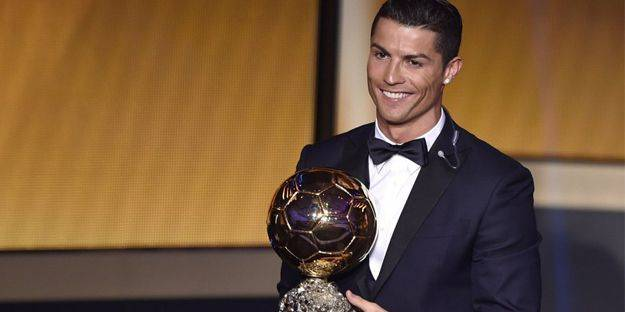 Ballon d'Or Cristiano Ronaldo'nun!