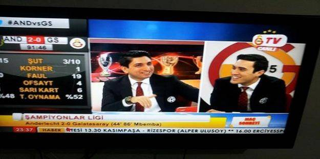 GS TV spikeri tepki çekti!