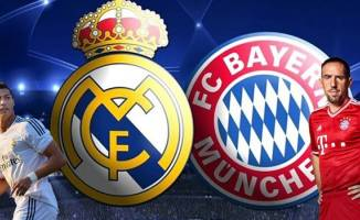 Real Madrid-Bayern Munih maçı TRT 1'de